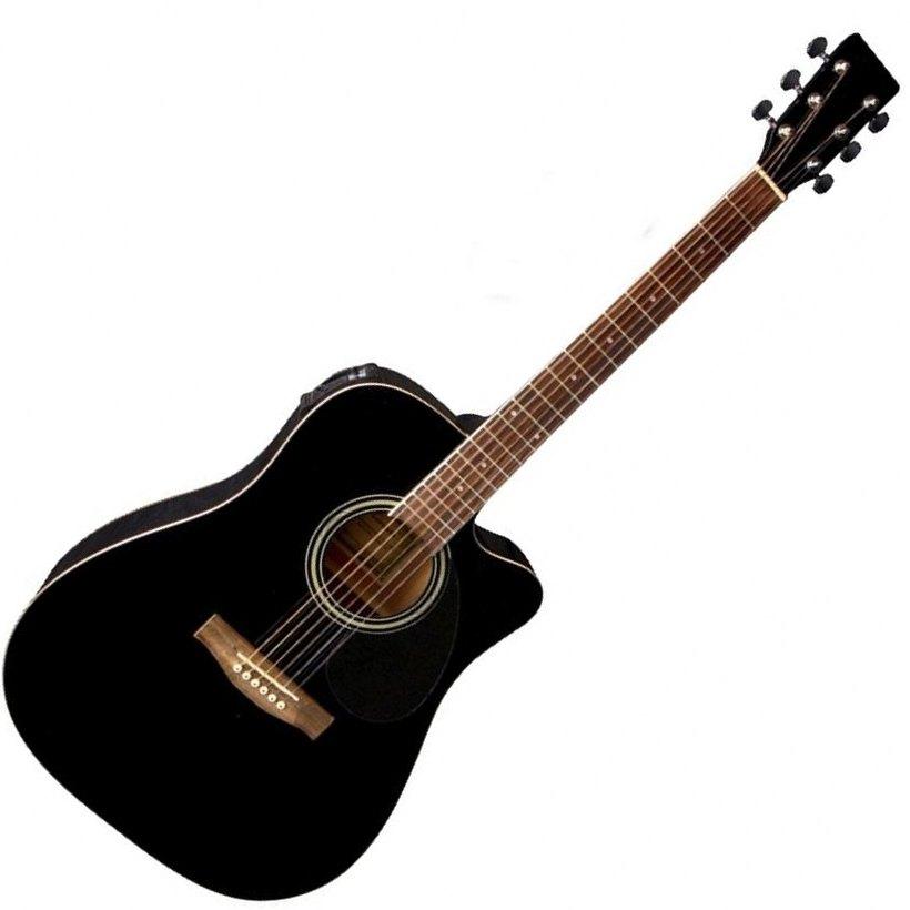 VGS D-10CE BLK ozvučena akustična gitara