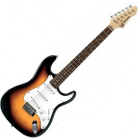 VGS RC-100 3TS električna gitara paket