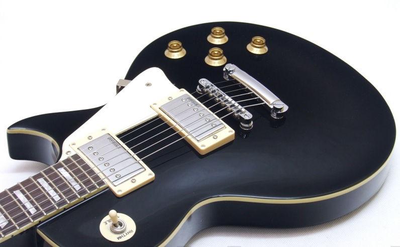 Vintage V100BLK Gloss Black električna gitara