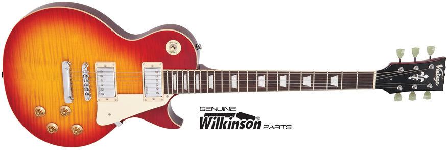 Vintage V100CS Cherry Sunburst električna gitara