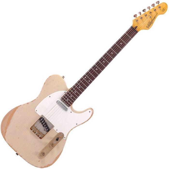 Vintage V62MRAB Distressed Ash Blonde električna gitara