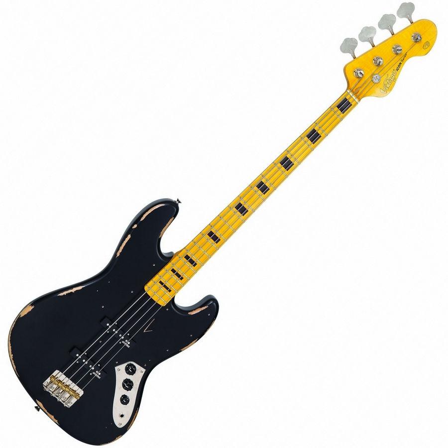 Vintage VJ74MRBK ICON bas gitara
