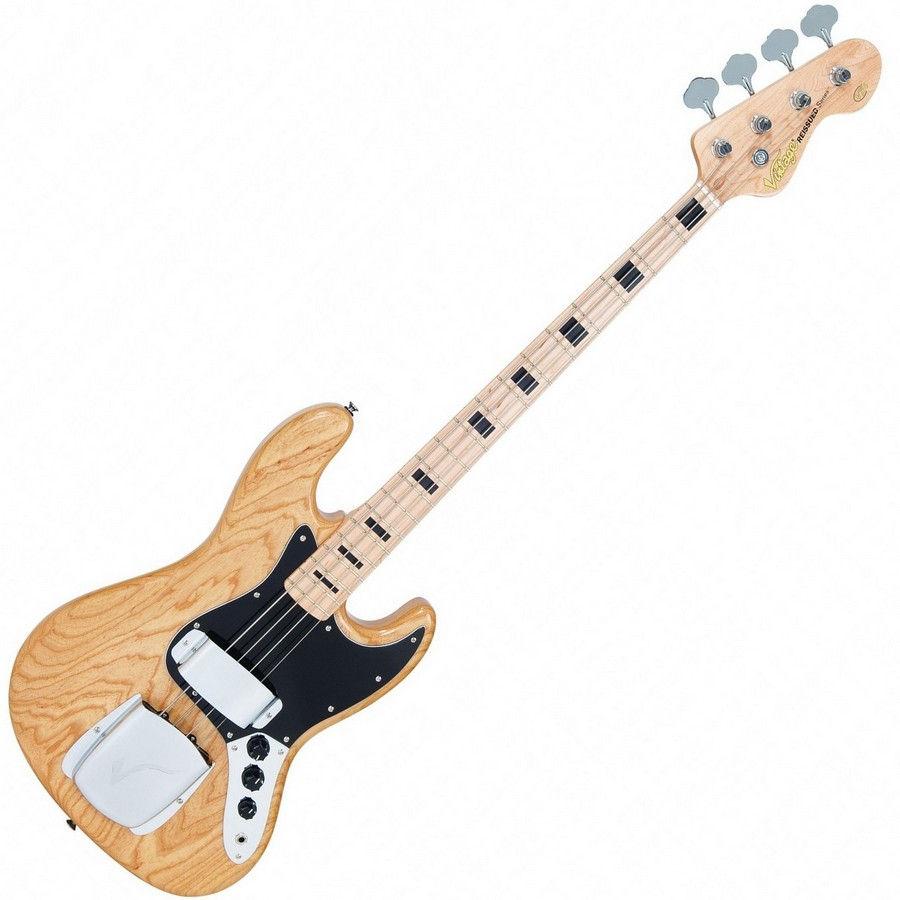 Vintage VJ74NAT bas gitara