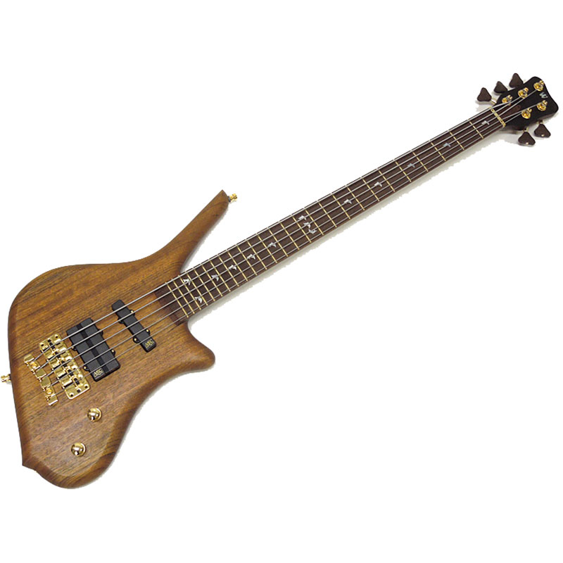 Warwick Dolphin Pro I 5 Natural Oil Finish bas gitara
