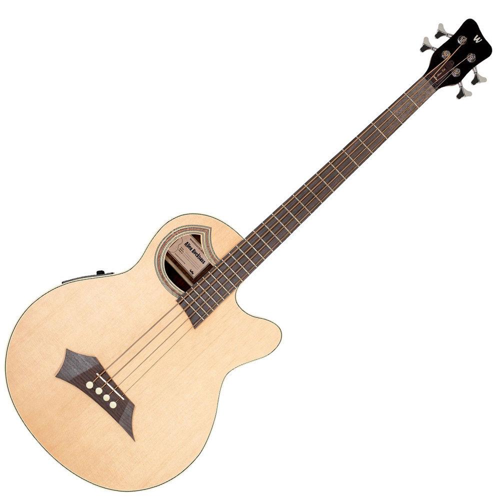 Warwick RockBass Alien Standard 4 Natural HP akustična bas gitara