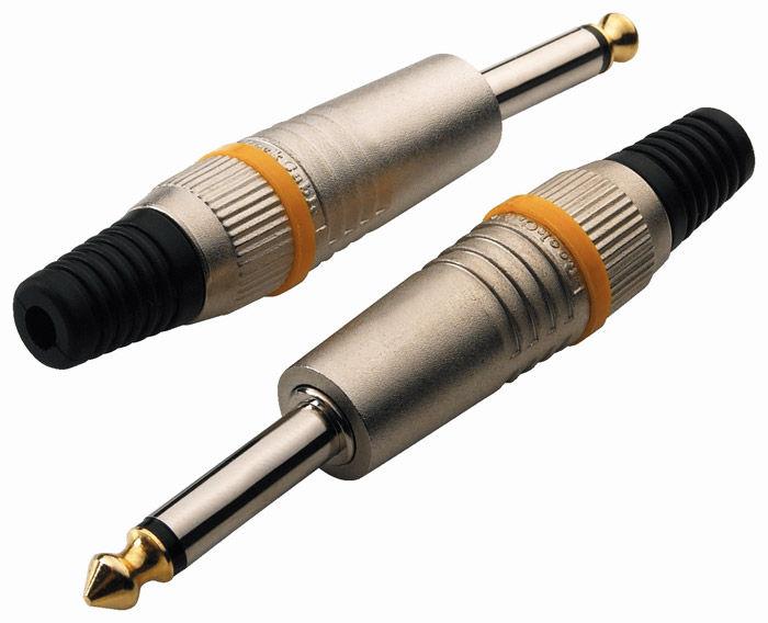 Warwick RockCable RCL 10002 M kablovski konektor muški mono 6.3mm