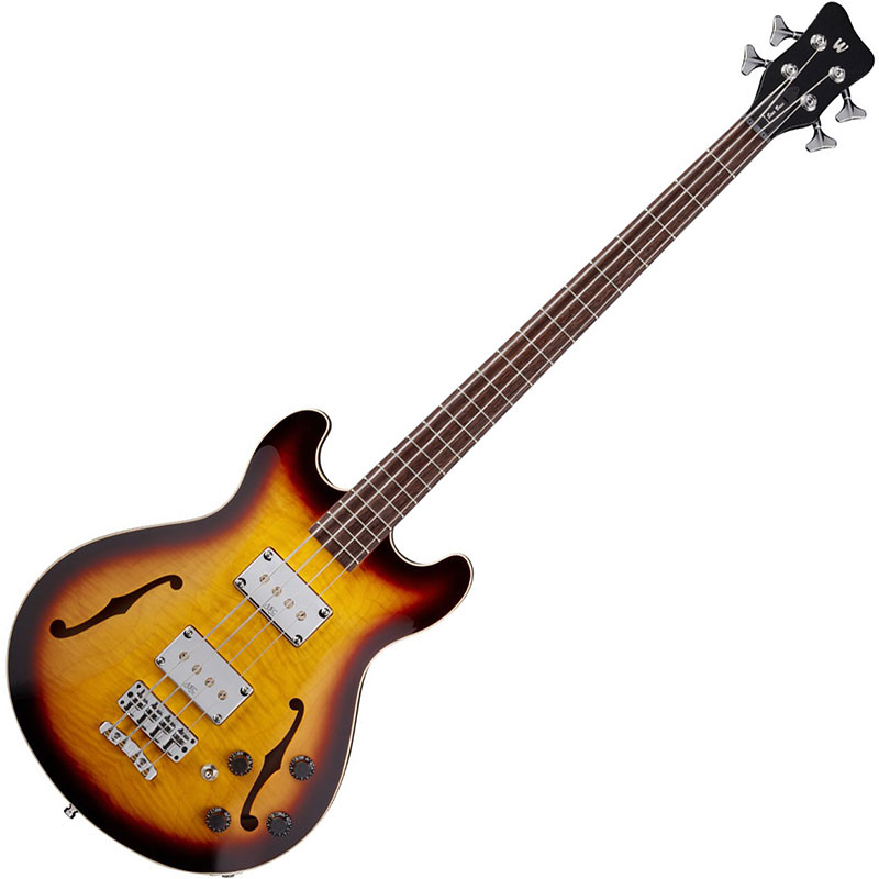 Warwick WGPS StarBass 4 Vintage Sunburst Transparent High Polish bas gitara