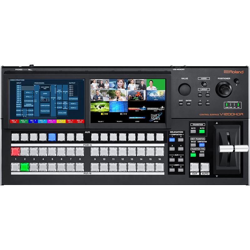 Roland V-1200HDR (4) Video Mixer