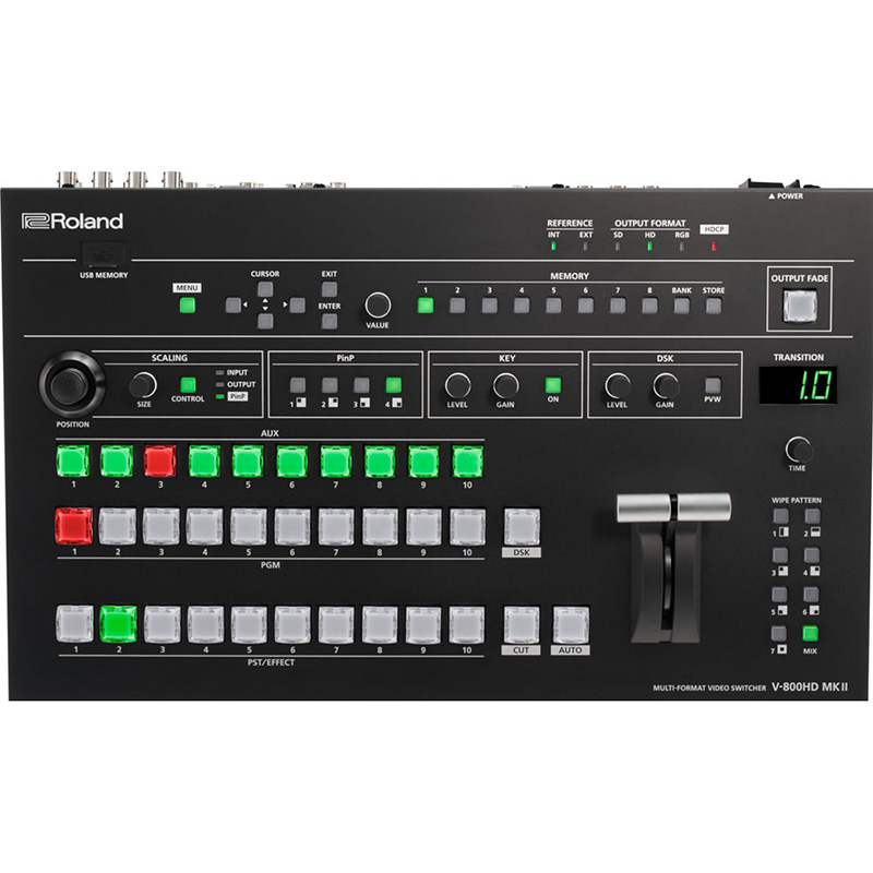 Roland V-800HD MKII (2) Video Mixer