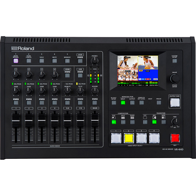 Roland VR-4HD Video Mixer