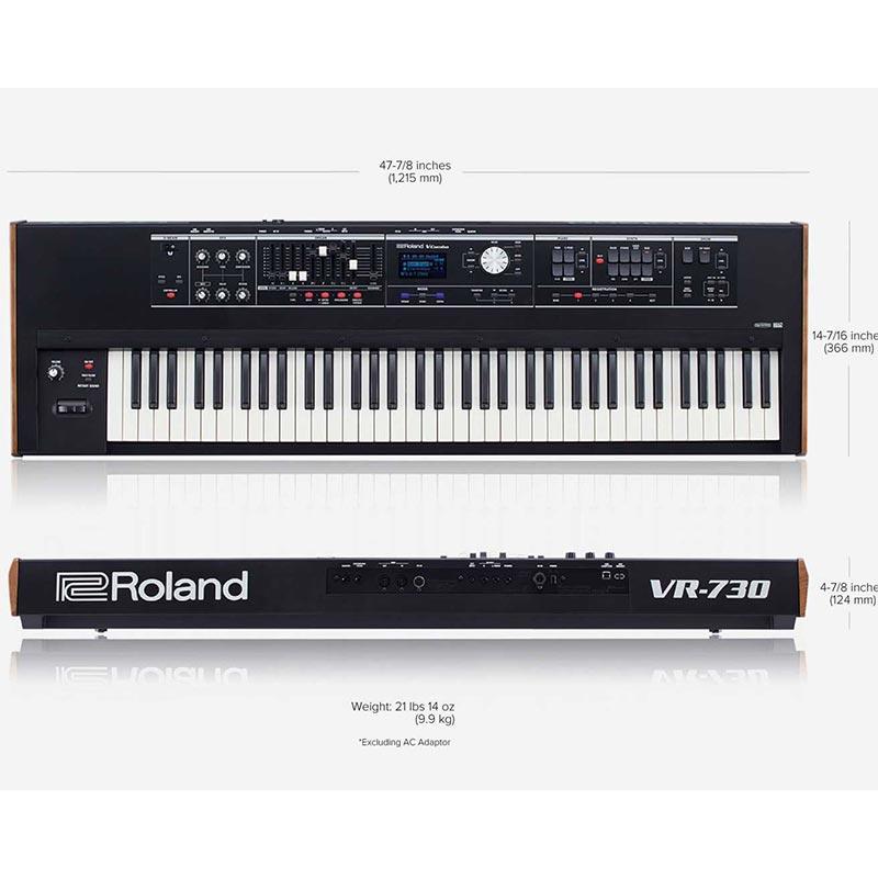 Roland VR-730 v-combo sintisajzer