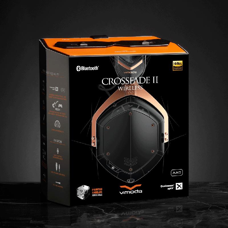 Roland XFBT2-RGOLDB BT Over-Ear Headphone Crossfade Wireless