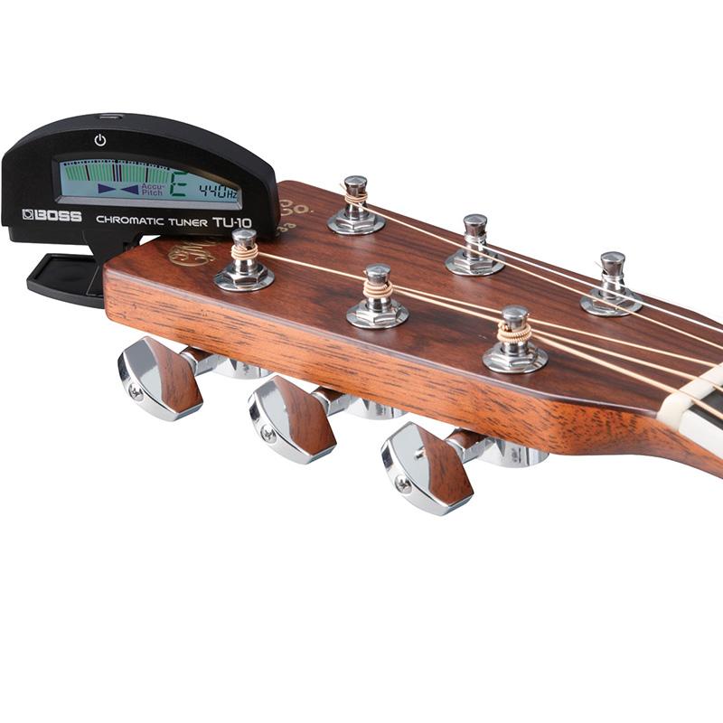Boss TU-10 BK Clip-On Tuner for Guitar