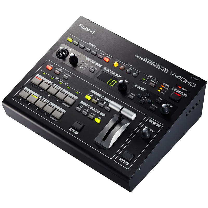 Roland V-40HD Multi-Format Video Mixer