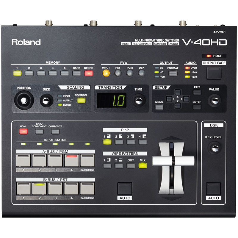 v40hd_top_main_gal Video Mixer