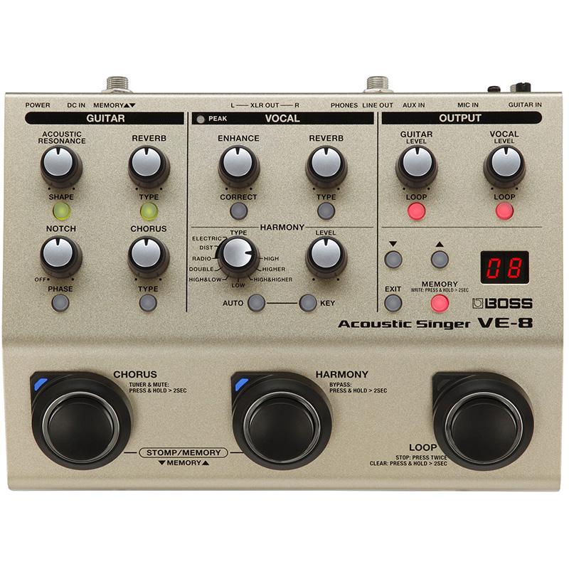 ve-8 Vocal Processor