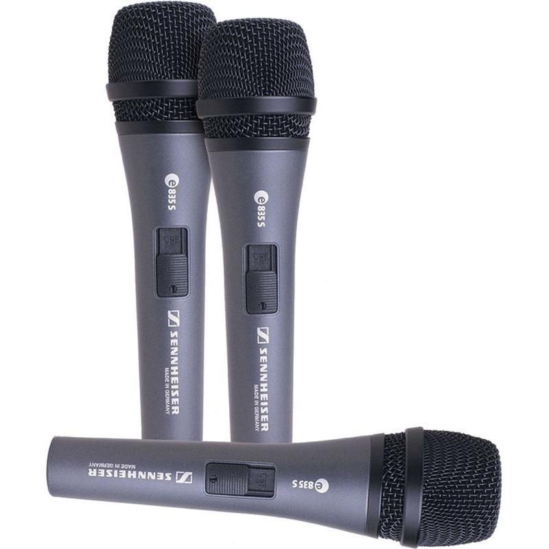 Sennheiser-E-835s mikrofon