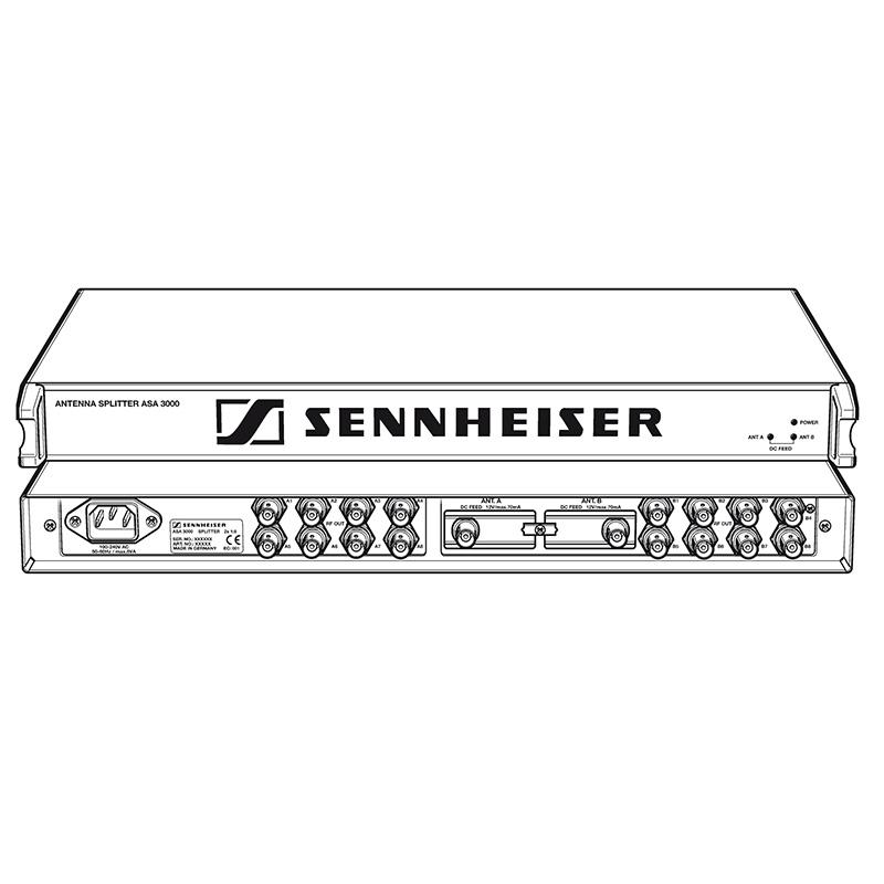Sennheiser ASA 3000 antenna splitter