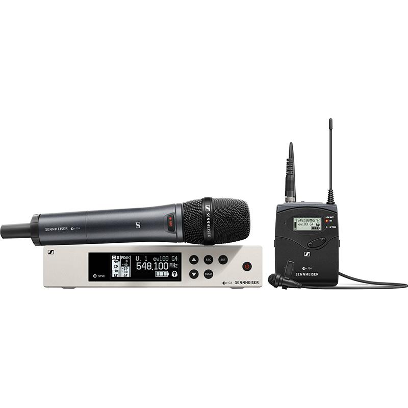 Sennheiser ew 100 G4-ME2/835-S-B wireless systems
