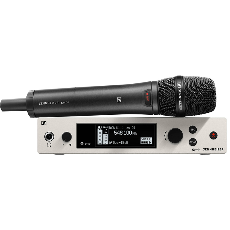 Sennheiser ew 300 G4-BASE SKM-S-BW wireless microphone systems