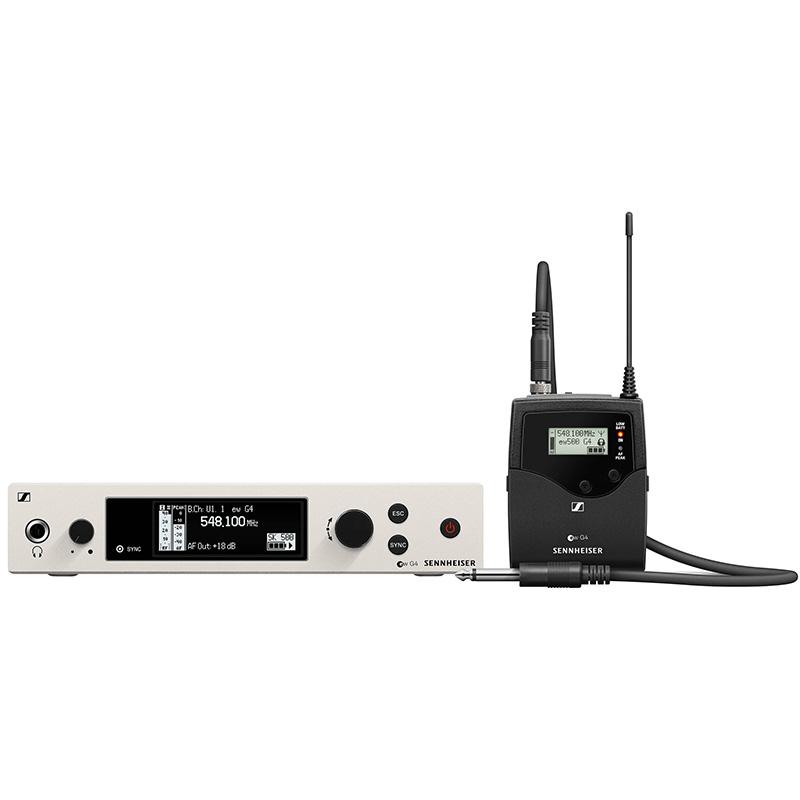 Sennheiser ew 500 G4-CI1-BW wireless instrument mic set