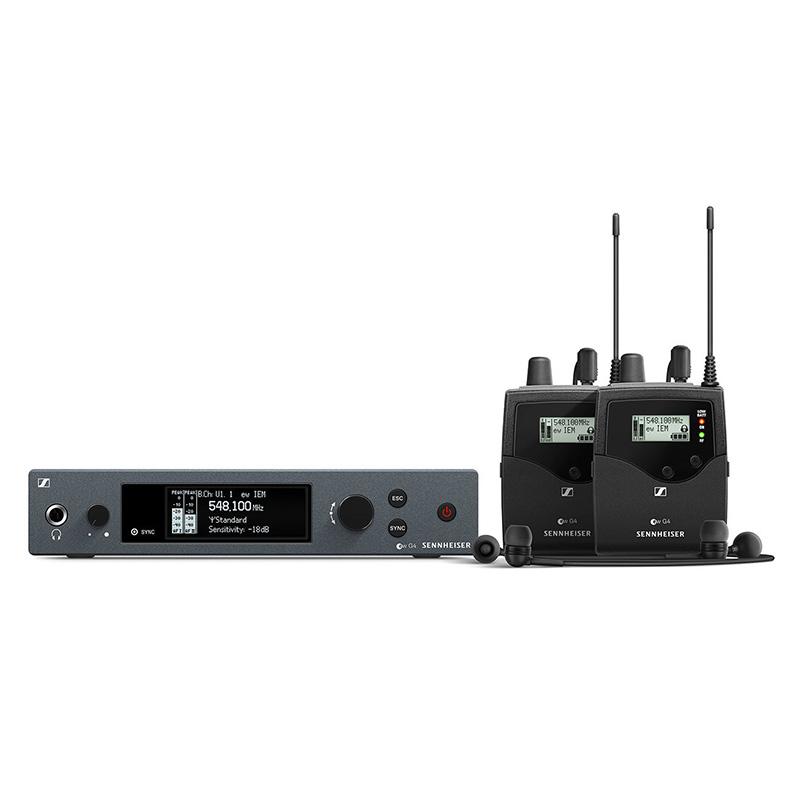 Sennheiser ew IEM G4-TWIN-B wireless monitoring system