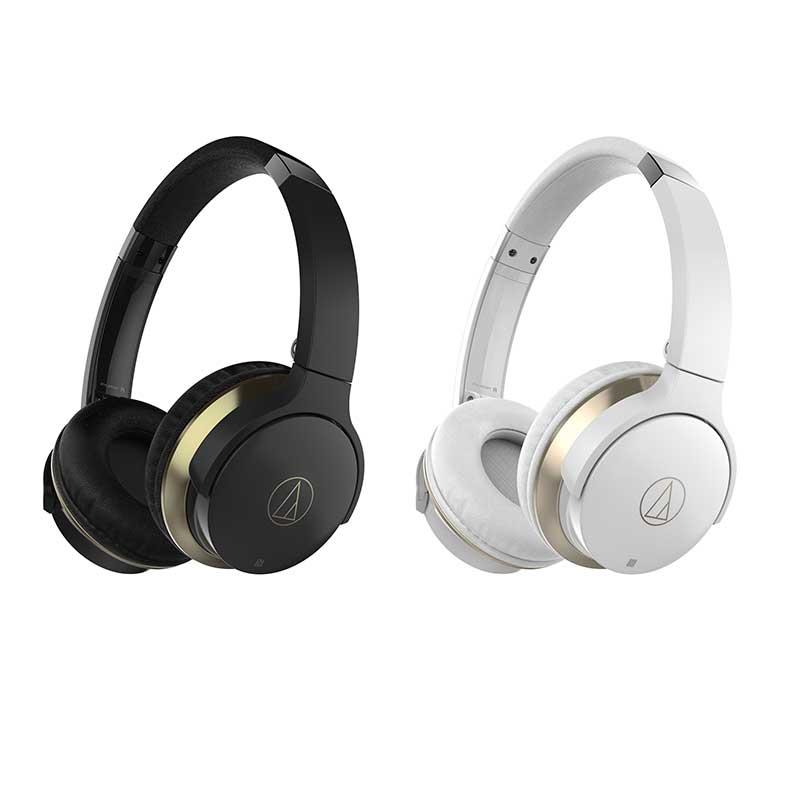 Audio-Technica ATH-AR3BTBK Wireless On-Ear Headphones