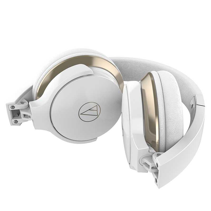 Audio-Technica ATH-AR3BTWH Wireless On-Ear Headphones