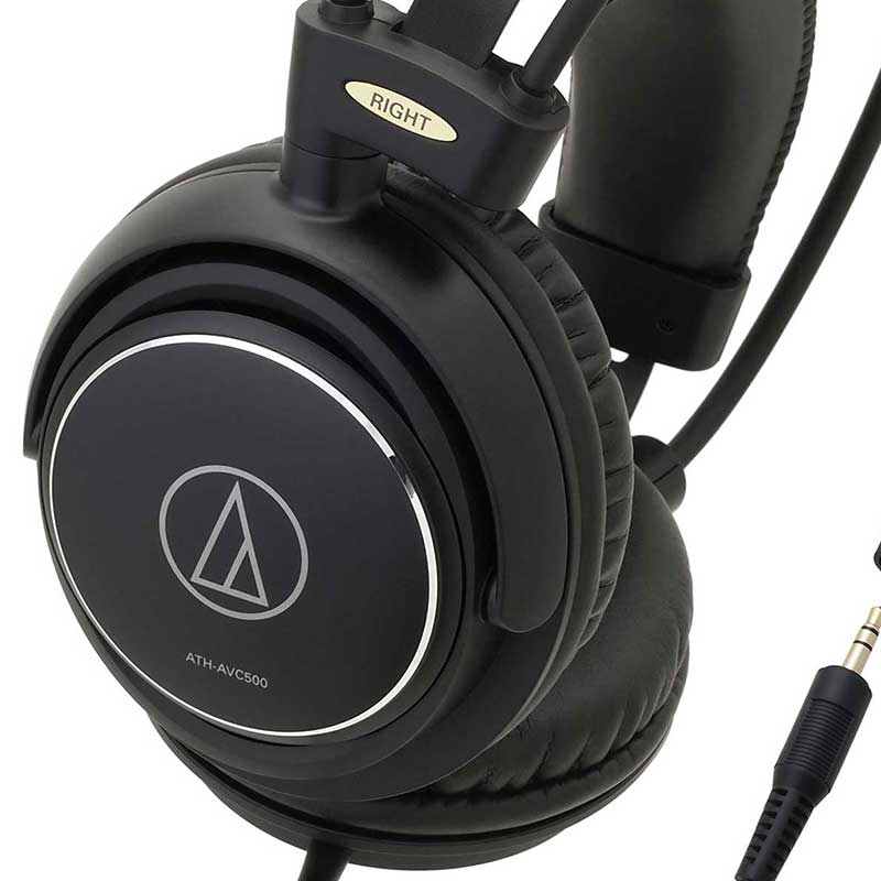 Audio-Technica ATH-AVC500 Over-ear closed-back home studio headphones