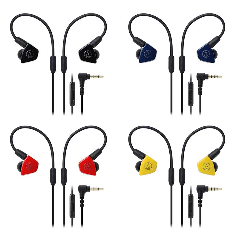 Audio-Technica ATH-LS50iSYL Live-Sound In-Ear Headphones