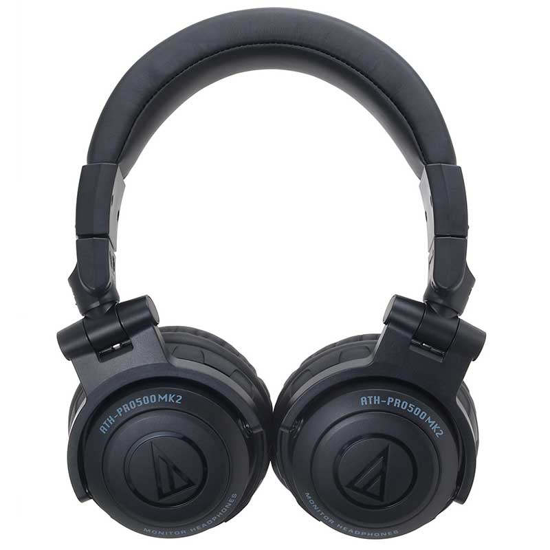 Audio-Technica ATH-PRO500MK2 BK Profesionalne DJ monitorske slušalice – crne