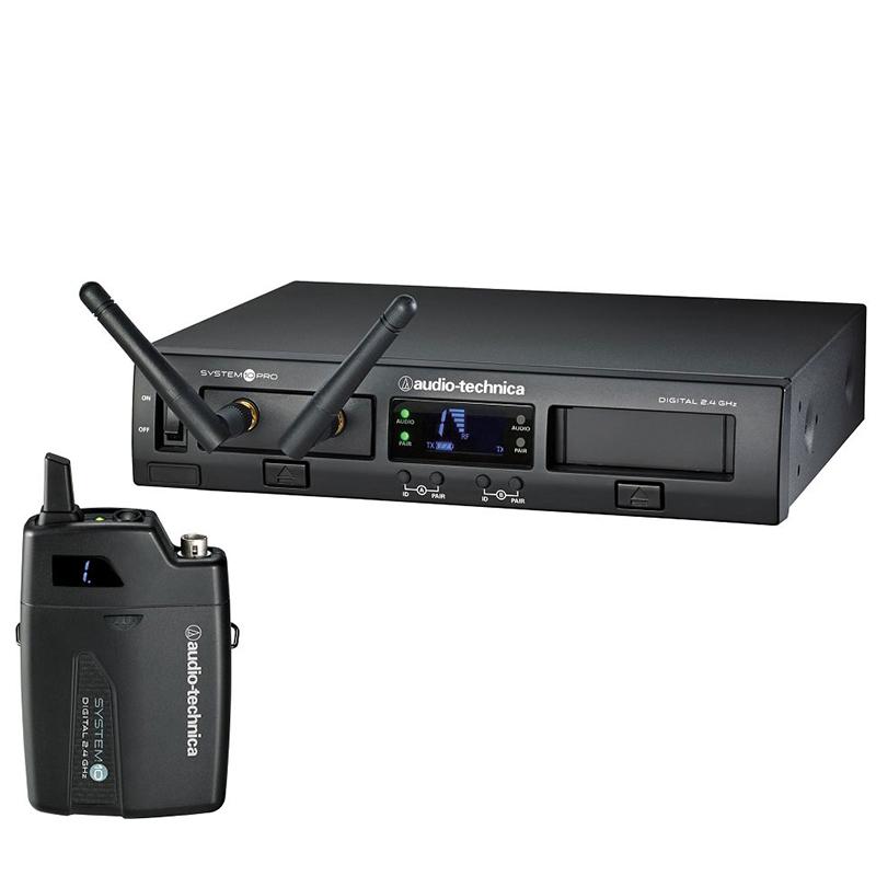 Audio-Technica ATW-1301 2.4GHz Digital 1-Channel Rack Bodypack Wireless System