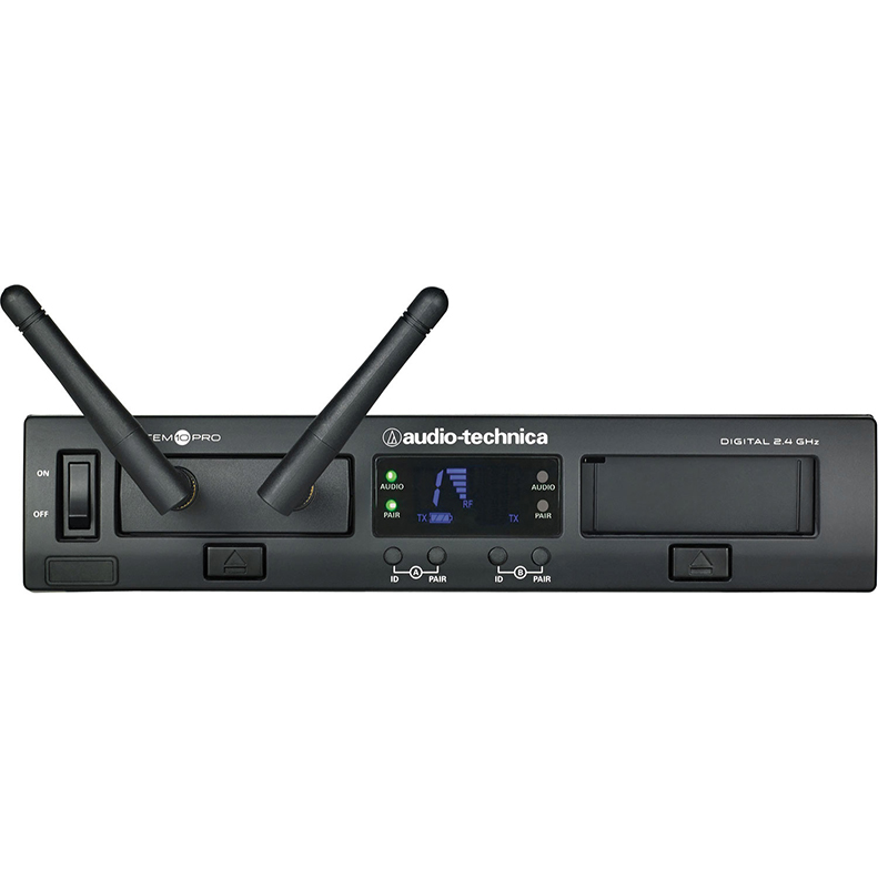 Audio-Technica ATW-1302 2.4GHz Digital 1-Channel Wireless Handheld System
