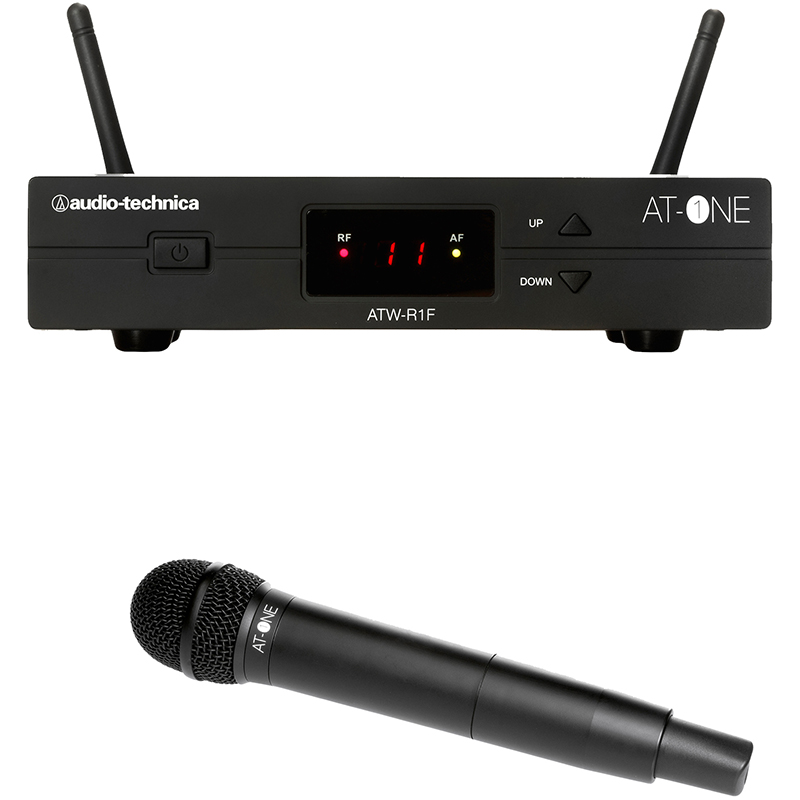 Audio-Technica ATW-13F AT-One Handheld transmitter system