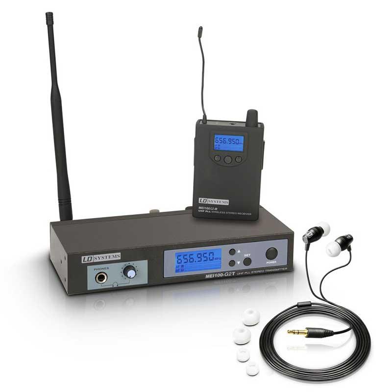 LD Systems MEI 100 G2 B 6 In-Ear Monitoring Set