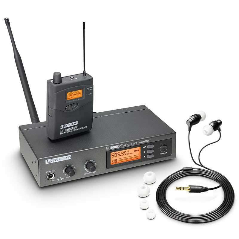 LD Systems MEI 1000 G2 B 5 In-Ear Monitoring Set