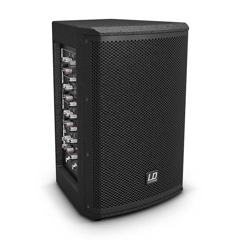LD Systems MIX 6 A G3 Active 2-Way Loudspeaker with Integrated 4-Channel Mixer