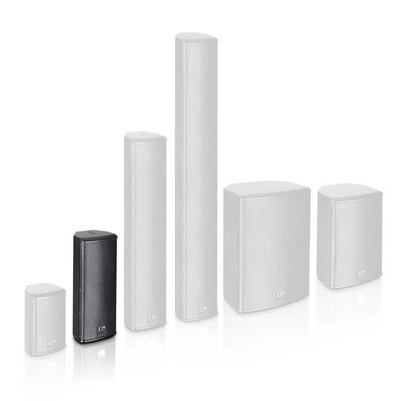 LD Systems SAT 242 G2 2 x 4″ passive Installation Speaker black