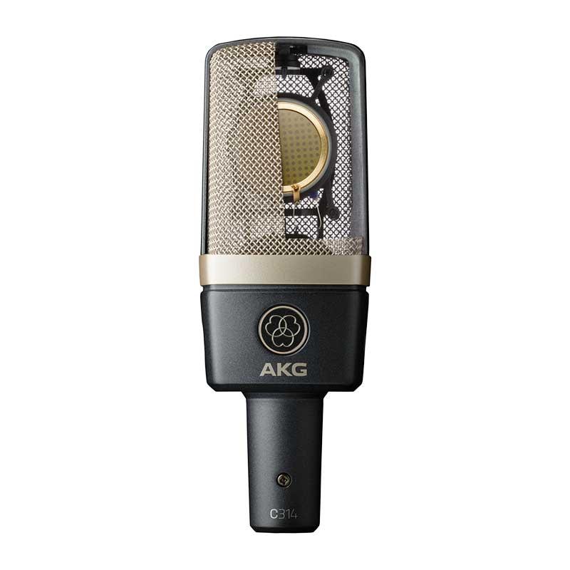 AKG C314 professional multi-pattern condenser mikrofon