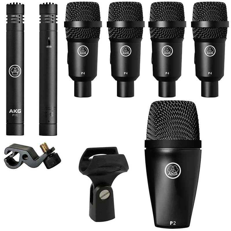 AKG Drum Set Session I high-performance drum microphone set