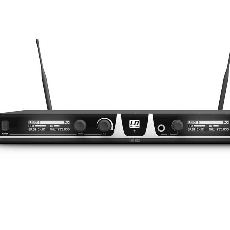 LD Systems U518 BPH 2 bežični mikrofon