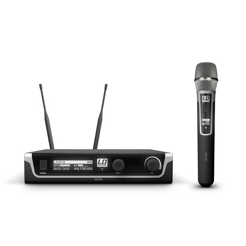 LD Systems U518 HHC bežični mikrofon