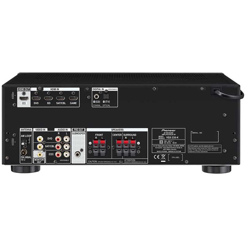 Pioneer VSX-330-K AV risiver