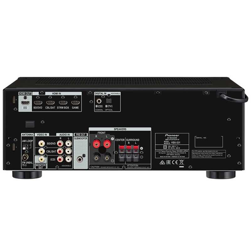 Pioneer VSX-531-B AV risiver