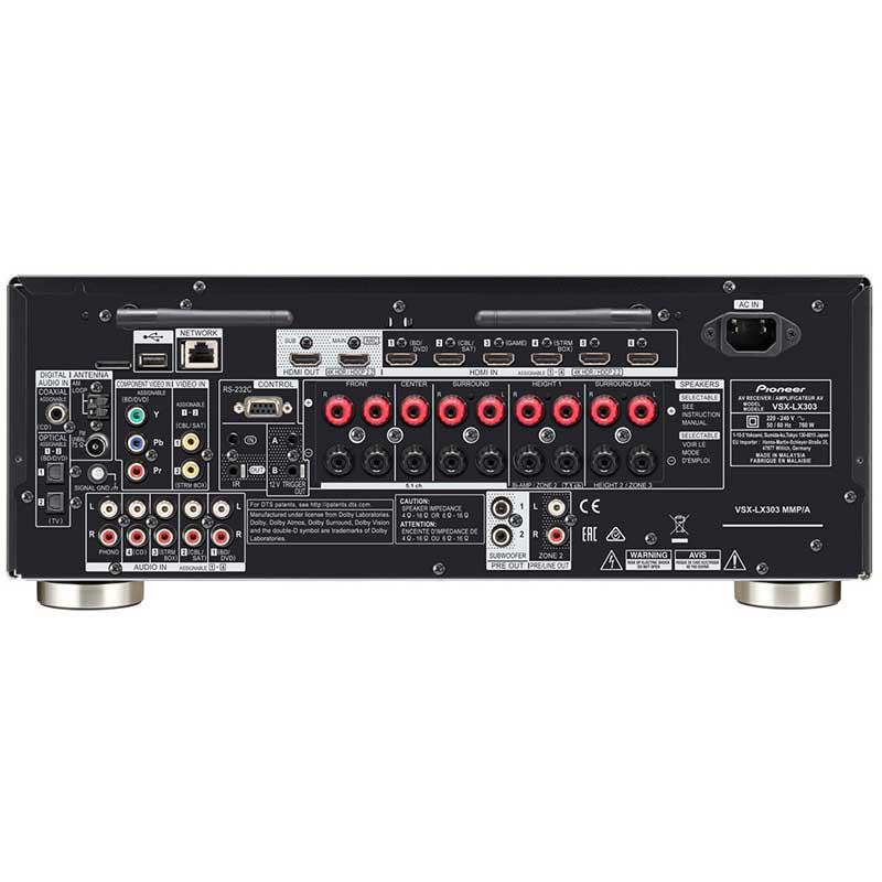 Pioneer VSX-LX303-B AV risiver