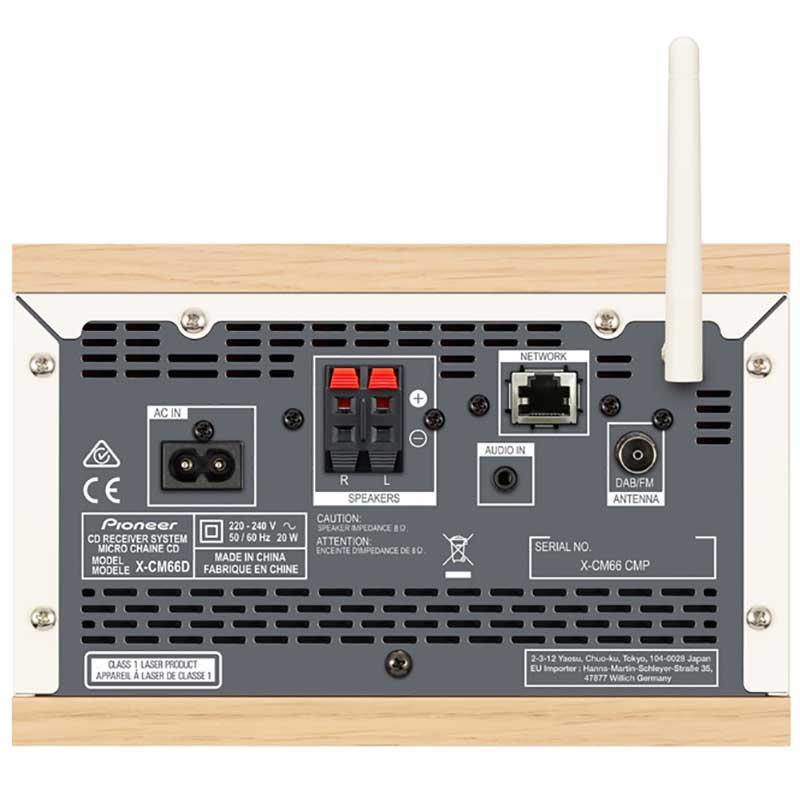 Pioneer X-CM66D-B Mikro linija Wi Fi