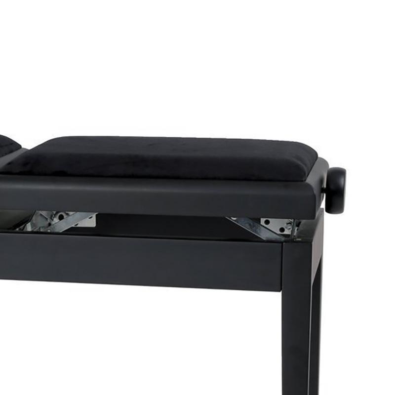 GEWA DELUXE BK LAK dupla klavirska stolica