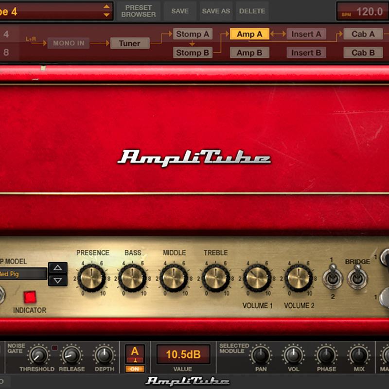 IK Multimedia AmpliTube 4 Hyper Realistic Tone
