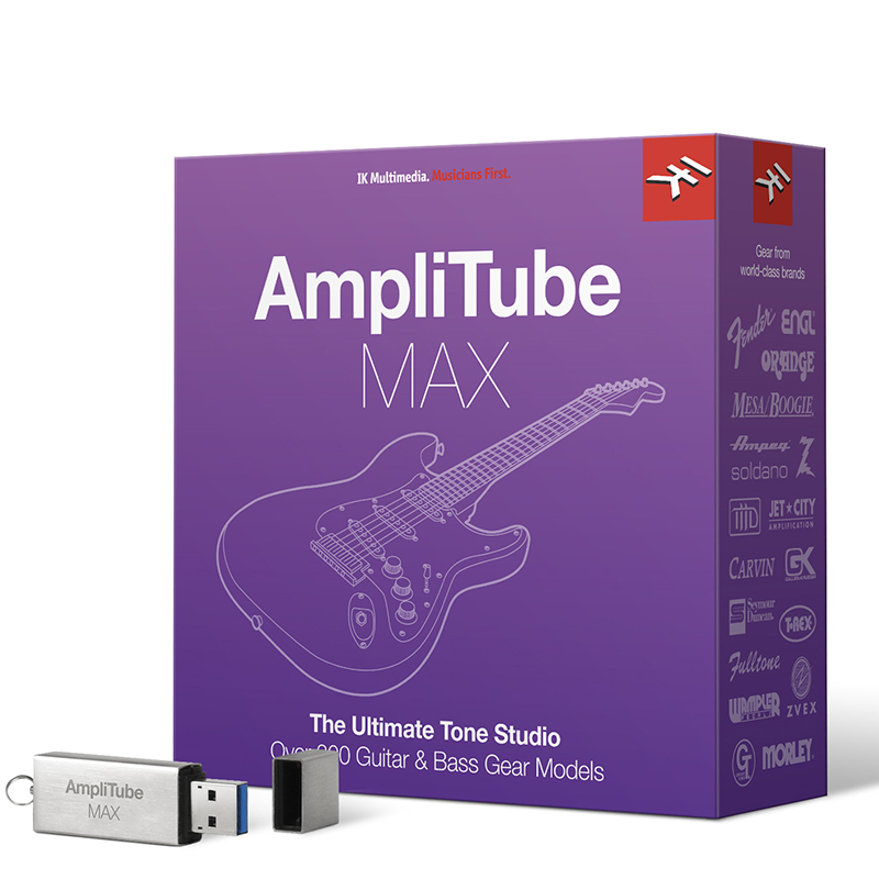 IK Multimedia AmpliTube MAX – CROSSGRADE from any previously purchased IK product