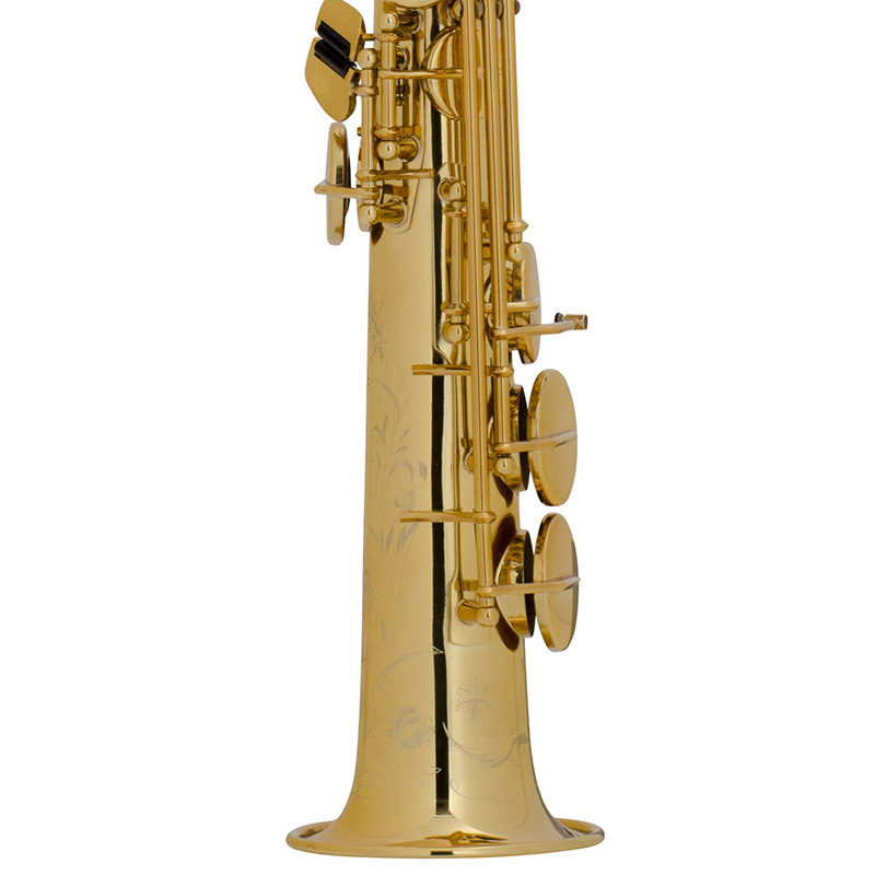 Selmer Super Action 80 Series II B-flat Soprano Saxophone Gold Lacquer Engraved